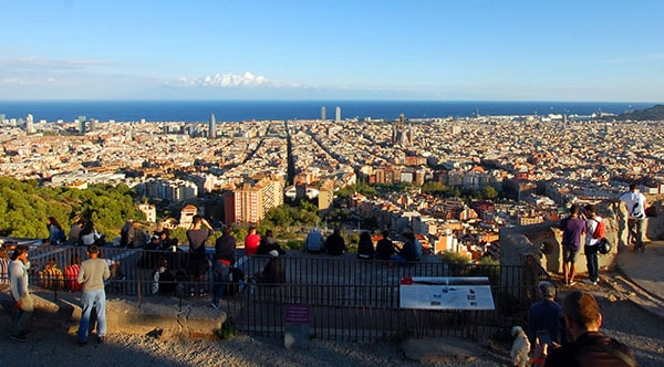 Barcelona panoramic views